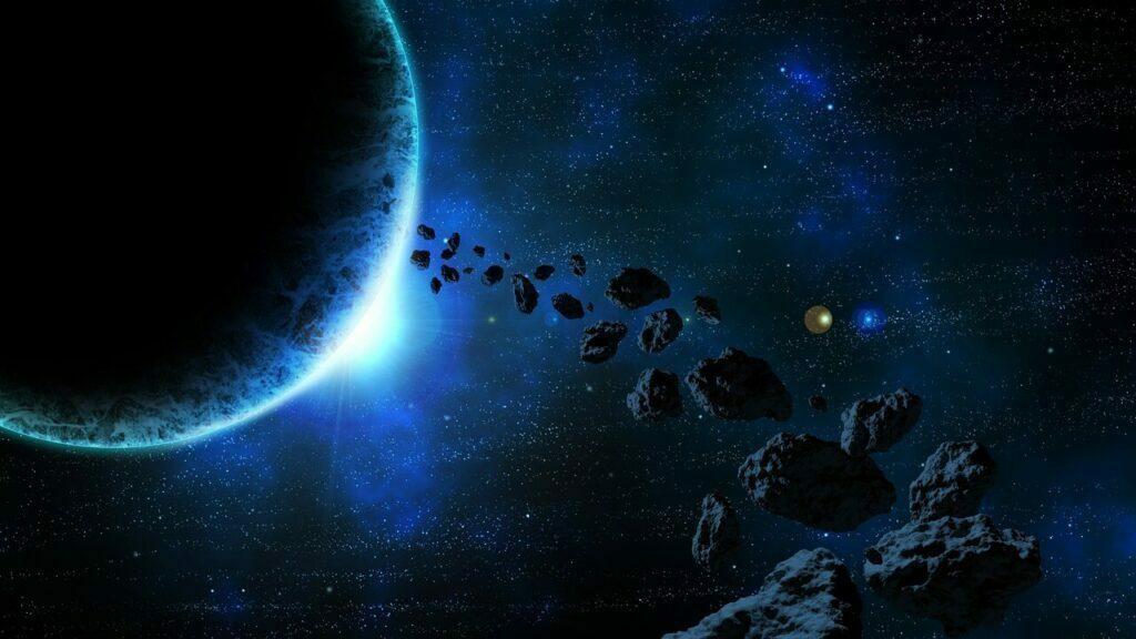 asteroidler ve meteorlar