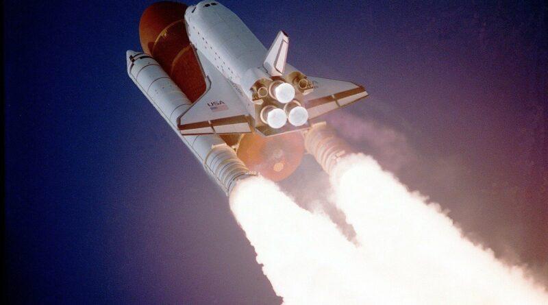 Uzay mekiğinin Fırlatılışı -uzay mekiği insan taşırmı