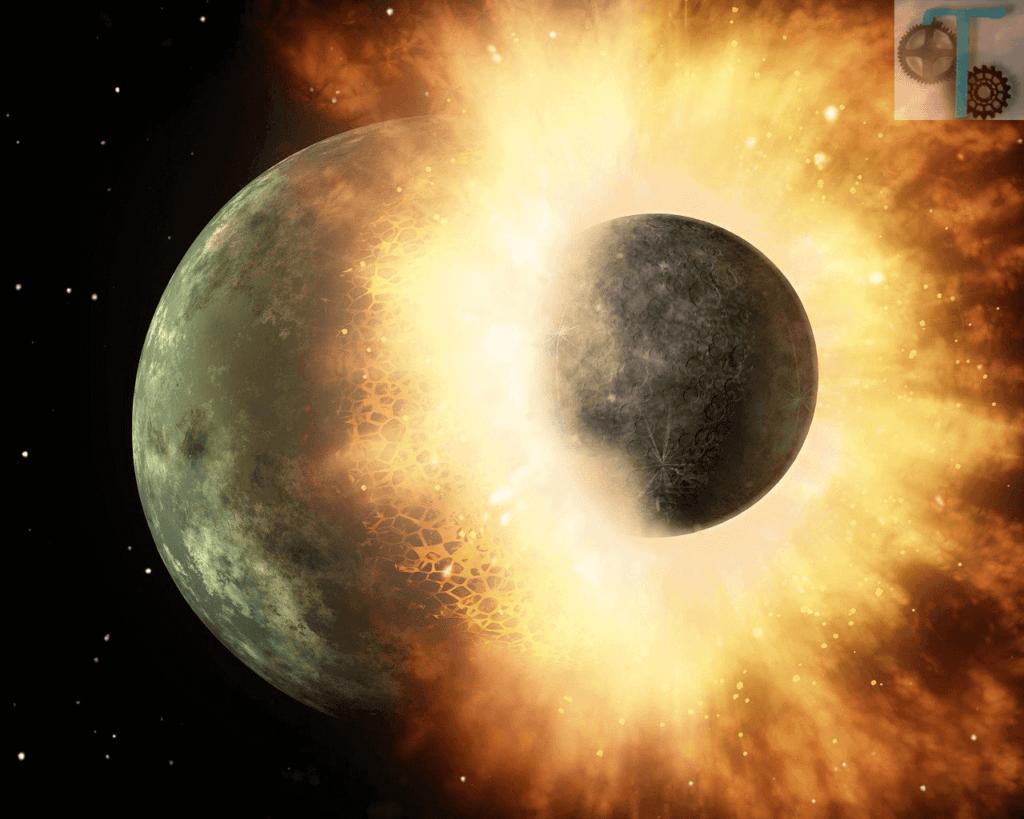 Halkalaı gezegenlerin oluşumu - Yıldızların çarpışması