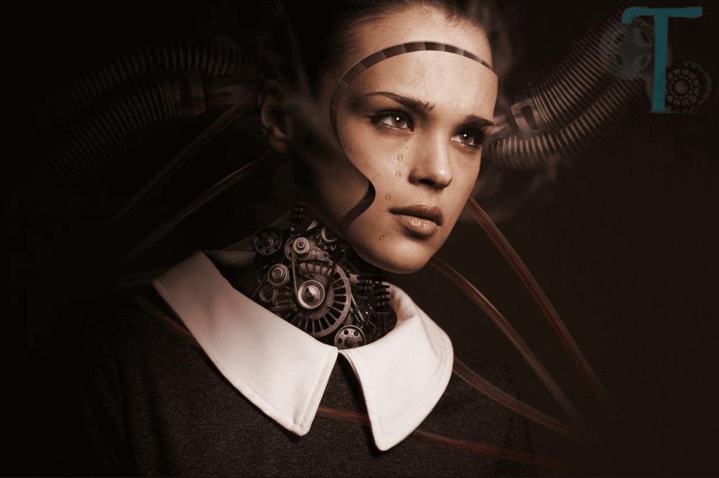 teknolojinin zararları , robot insan