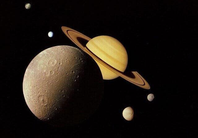 Satürn gezegenive Satürn'ün uyduları