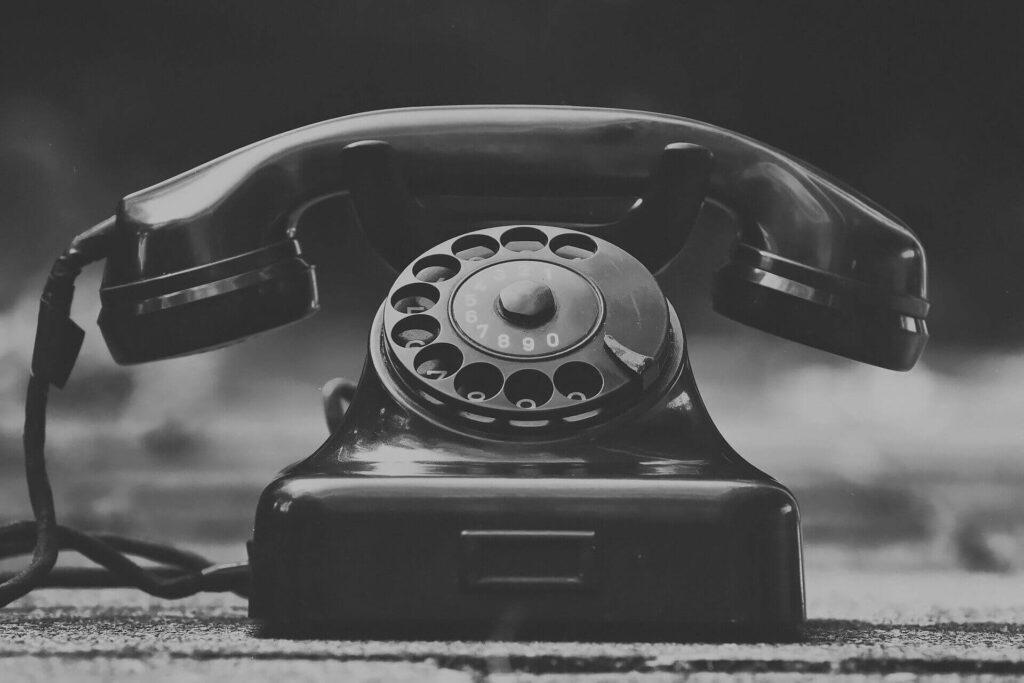 eski sabit telefon